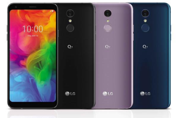 LG Q7 - новый смартфон с премиальными функциями