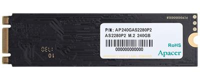 Apacer AS2280P2 – новый доступный SSD в форм-факторе М.2