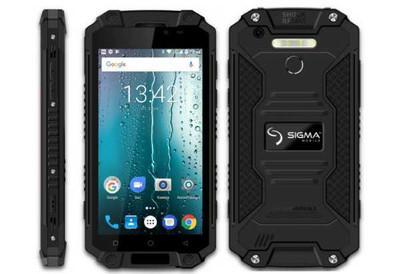 Sigma mobile X-treme PQ39 - защищенный смартфон с аккумулятором на 9000 мАч