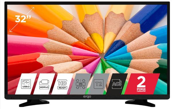 Новые LED-телевизоры ERGO уже в продаже