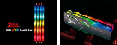 Kingmax анонсировала новую оперативную память Zeus Dragon RGB