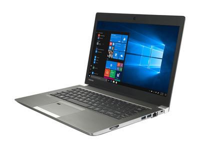 Toshiba представила 13,3-дюймовый ноутбук Portege Z30-E с чипами Kaby Lake R