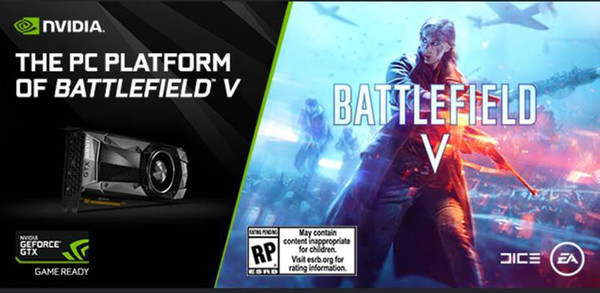 GeForce GTX стала основой ПК-платформы для Battlefield V