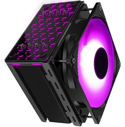Jonsbo представила башенный кулер CR-201 Hives с красивой RGB-подсветкой