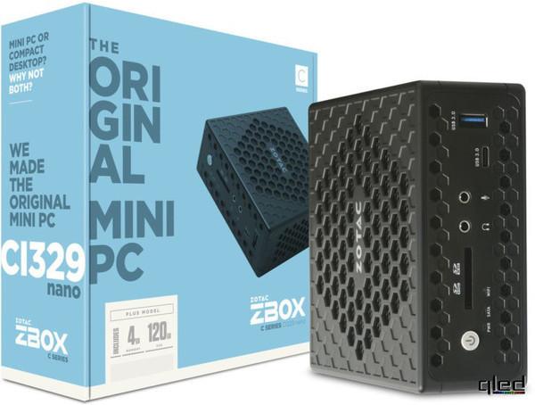 Представлен мощный мини-ПК ZBOX CI329 nano