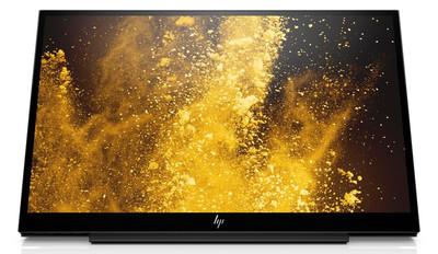 HP EliteDisplay S14 – компактный монитор с весом менее 1 кг и портом USB Type-C