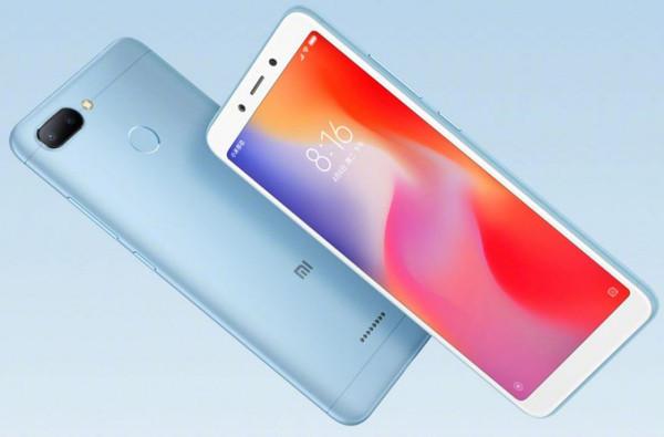 Состоялся официальный анонс смартфонов Xiaomi Redmi 6 и 6A