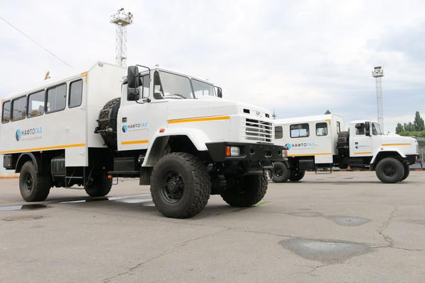 Вахтовые автомобили КрАЗ отгружены филиалам