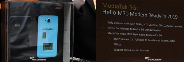 MediaTek представила свой первый 5G-модем для смартфонов