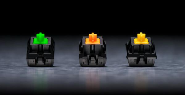 Переключатели Razer будут использоваться в клавиатурах сторонних производителей