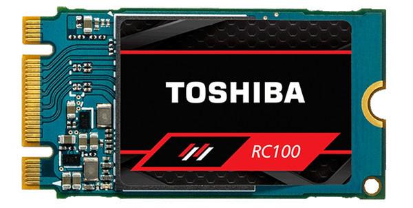 Стартовали продажи накопителей Toshiba OCZ RC100 NVMe M.2 SSD