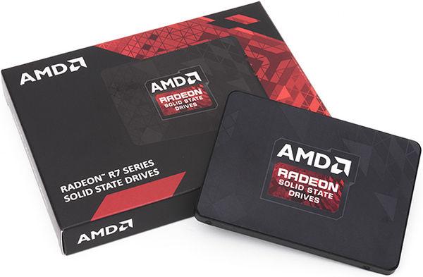 Твердотельные накопители от AMD