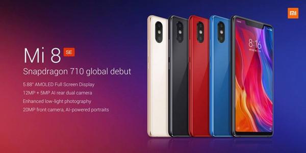Состоялся официальный анонс смартфона Xiaomi Mi 8 SE