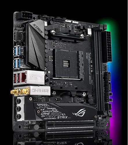 ASUS ROG Strix B450-I Gaming – новая компактная игровая плата