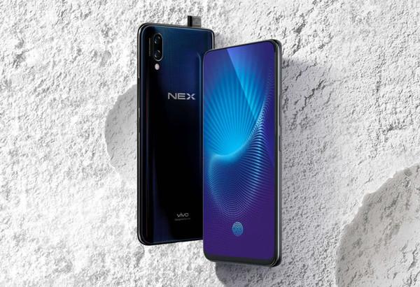 Vivo NEX – мощный смартфон с самым безрамочным дизайном