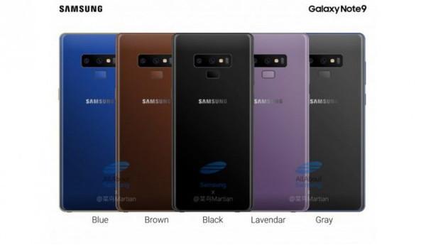 Samsung Galaxy Note 9 могут представить 9 августа