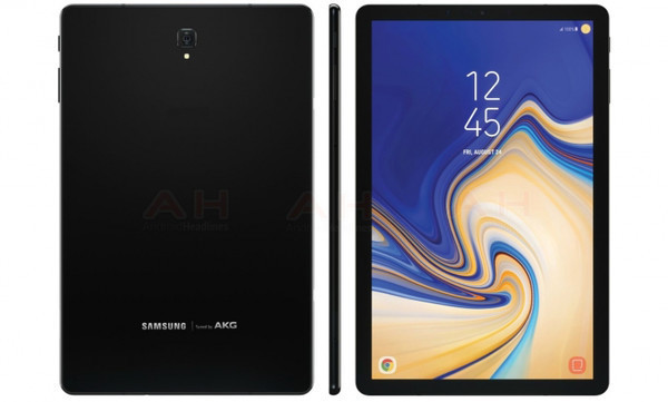 Рендерные фото планшета Samsung Galaxy Tab Advanced 2