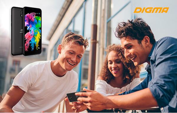 Представлен смартфон DIGMA Trix 4G
