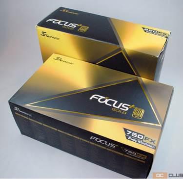 Обзор пары блоков питания Seasonic Focus Plus Gold на 750 Вт и 850 Вт