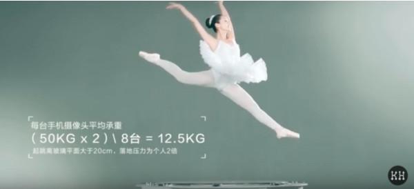 Смартфон Vivo NEX не выдержал тестирование балериной