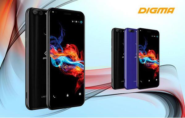 Представлен новый смартфон DIGMA Rage 4G