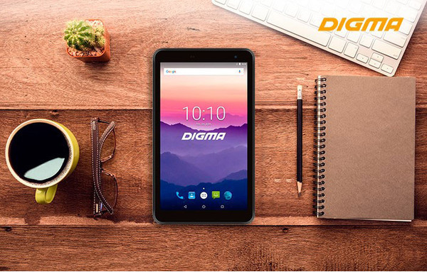 DIGMA Optima 7018N 4G - 7-дюймовый планшет с 4G
