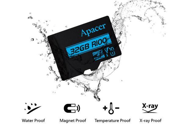 Компания Apacer представила серию быстрых microSD-карт