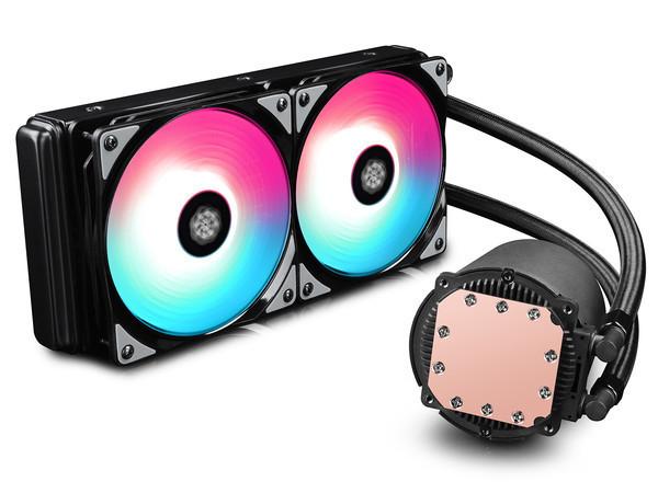 Deepcool и Gamerstorm запускают CASTLE 240/280 RGB - линейку СЖО процессоров