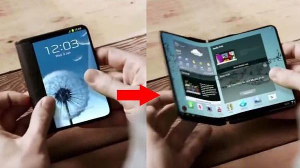 7-дюймовый смартфон Samsung со складным дисплеем выйдет в следующем году