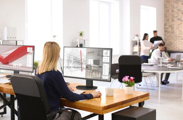 NEC представила новые 27-дюймовые дисплеи нового поколения