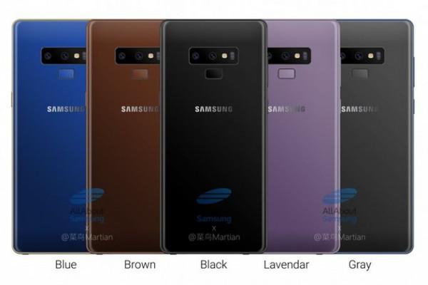 Samsung Galaxy Note 9 оценен в $1160