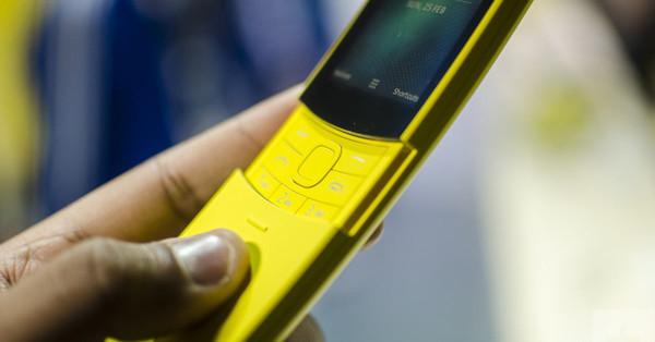 В Украине стартовали продажи обновленного Nokia 8110