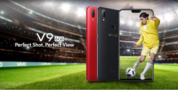Состоялся официальный анонс смартфона Vivo V9 6GB
