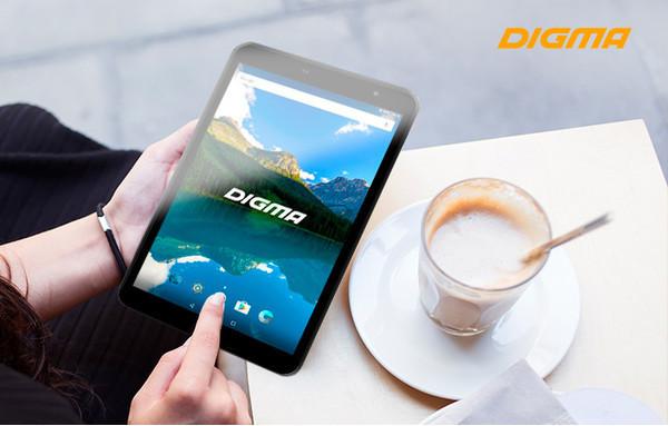 Новый 8-дюймовый планшет DIGMA Optima 8019N 4G