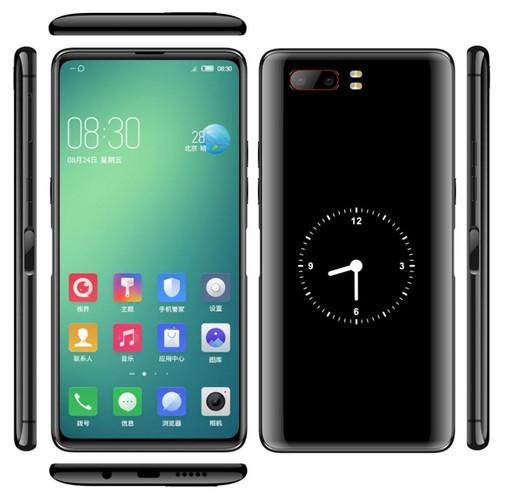 Смартфон получит два полноценных экрана