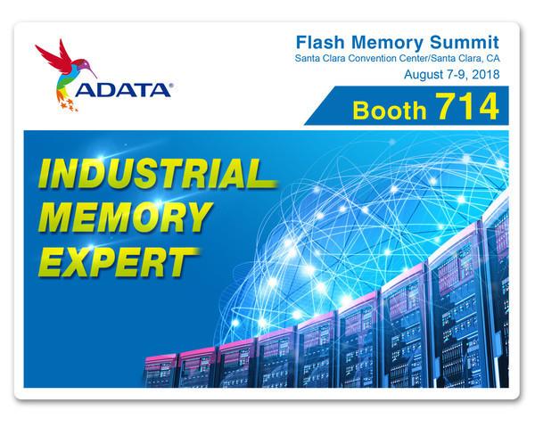ADATA представит новейшие промышленные решения на выставке Flash Memory Summit