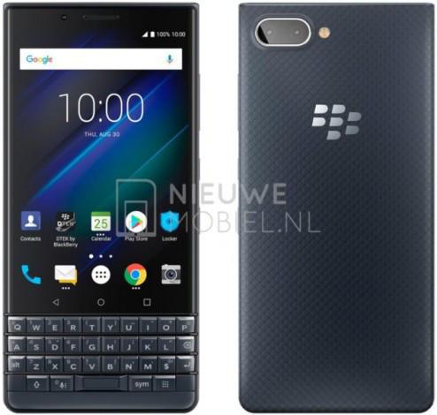BlackBerry KEY2 LE – опубликованы рендерные фото