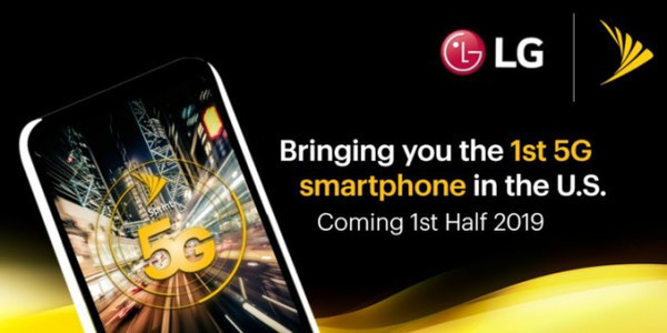 5G-смартфон LG выйдет в 2019 году