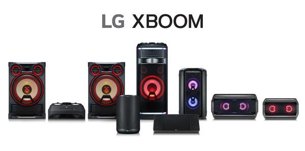 Расширенная линейка аудиоустройств LG X-BOOM