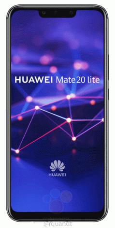 Новая порция подробностей о Huawei Mate 20 Lite