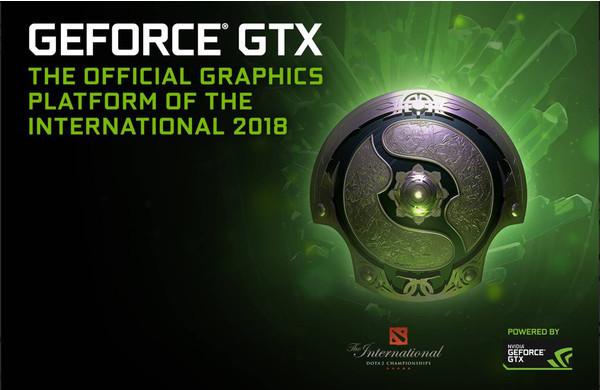GeForce – игровая платформа The International 2018