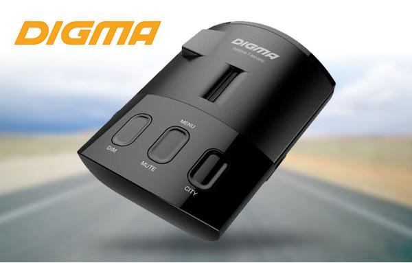 Новый радар-детектор DIGMA SafeDrive T-800 GPS представлен официально