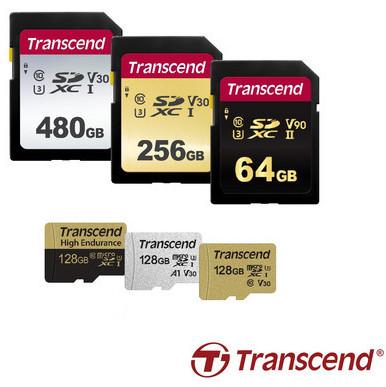 Transcend представляет широкую линейку карт памяти формата SD и microSD