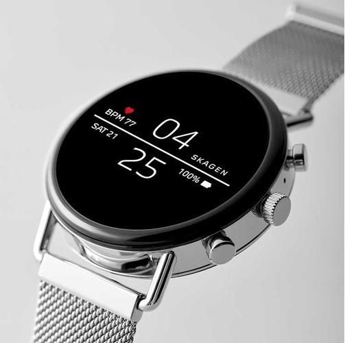 Skagen анонсировал смарт-часы Falster 2 с NFC и GPS