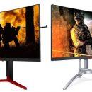 AOC представляет третье поколение высокопроизводительных игровых мониторов AGON