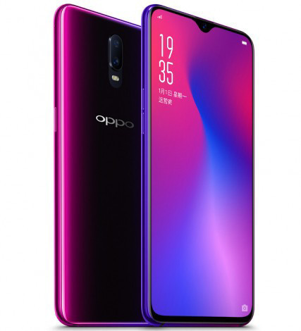 Oppo R17 первым получит стекло Gorilla Glass 6