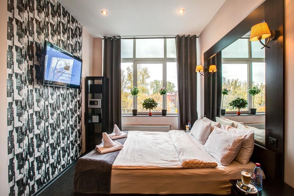 Премиум гостиница с прекрасным видом на Санкт-Петербург
