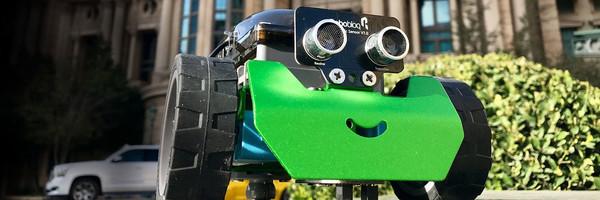 Новые металлические роботы ROBOBLOQ