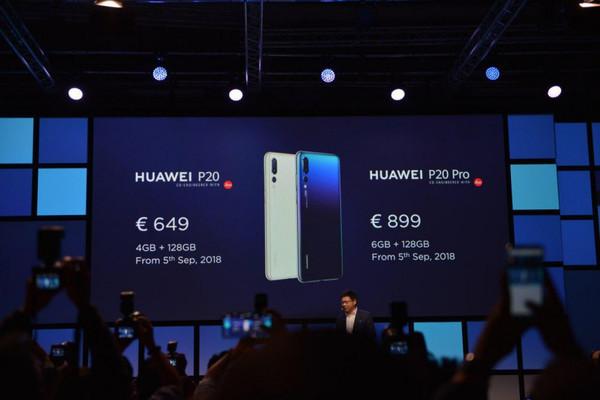 Представлена кожаная версия смартфона Huawei P20 Pro