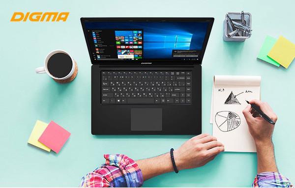 Новый недорогой ноутбук DIGMA CITI E602